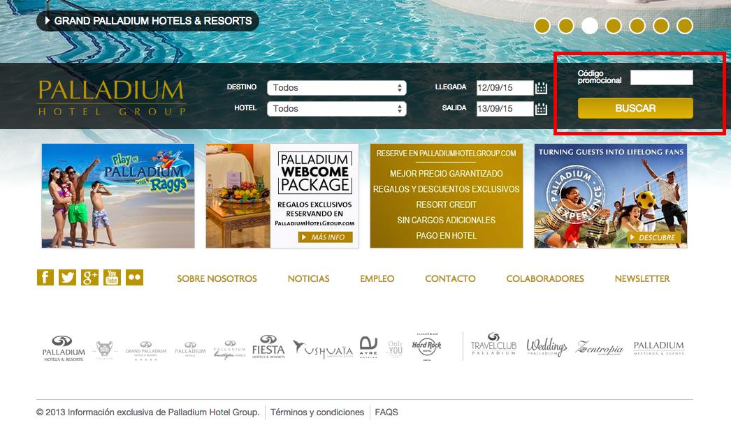 Descuento Código Promoción Valentin Hoteles