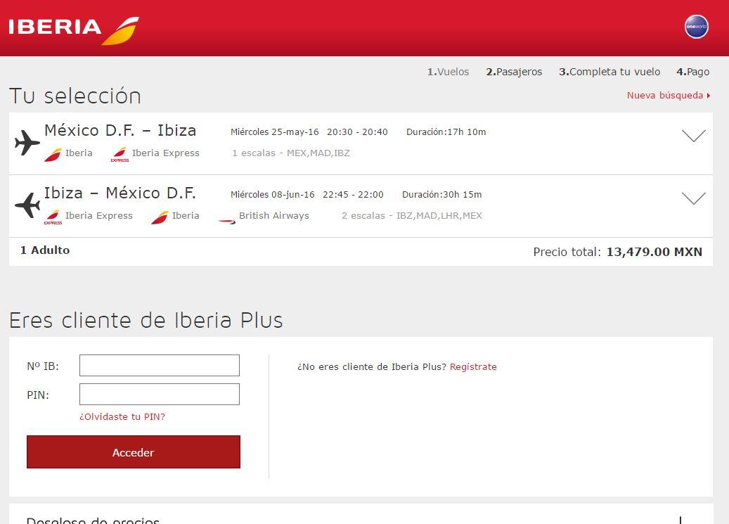 Cupon Promocional Iberia